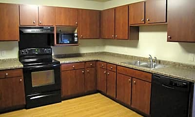 Kitchen, Jefferson Street Apartments & Townhomes, 2