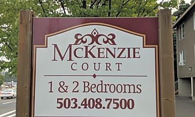 McKenzie Court, 1