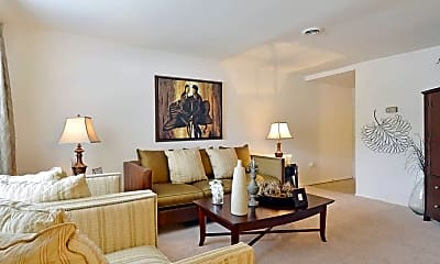 Living Room, Stonybrook Apartments, 1