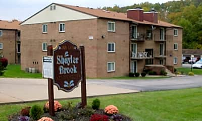 Building, Shayler Brook Apartments, 1
