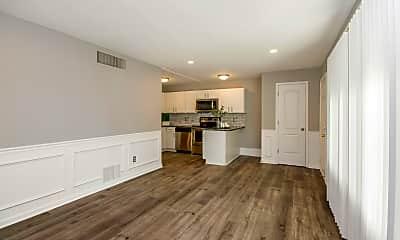 Living Room, Z on Woodland, 1