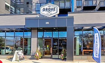 Community Signage, The Grove, 2