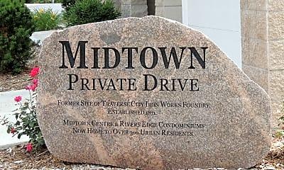 Community Signage, 301 E Eighth St, 2