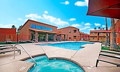 Pool, Casa Presidio Apartments, 0