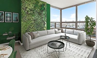 Living Room, 903 Monroe St, 0