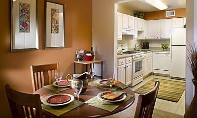 Kitchen, eaves Peabody, 1
