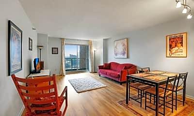 Living Room, 401 N 1st St 1215, 1
