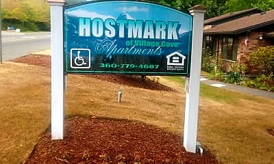 Hostmark of Village Cove Apartment, 1