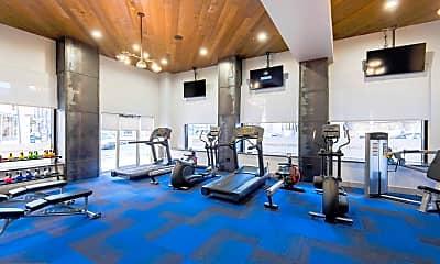 Fitness Weight Room, 2100 Walnut St 7D, 2