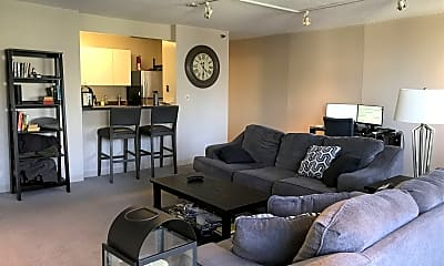Living Room, 440 N Wabash Ave APT 4306, 1