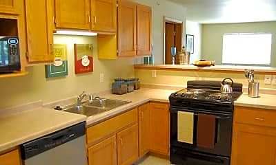 Kitchen, Rivershores Regency, 1
