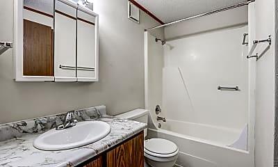 Bathroom, Woodbine Apartments, 2