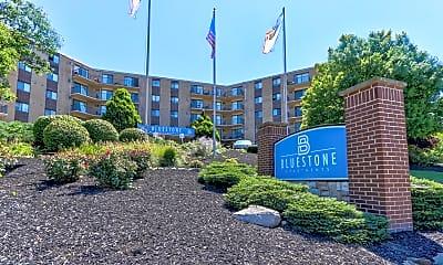 Community Signage, Bluestone Apartments, 0