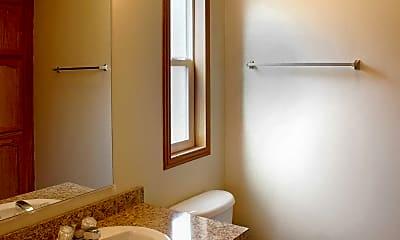 Bathroom, Scio Farms, 2