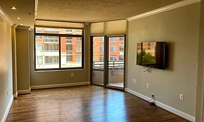 Living Room, 3600 S Glebe Rd 318W, 0