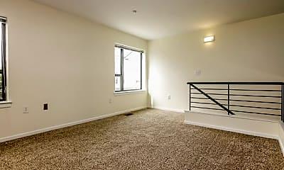 Living Room, Clipper Mill Apartments, 1
