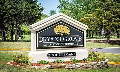 Community Signage, Bryant Grove, 1