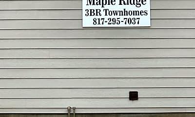 Maple Ridge Townhomes, 1