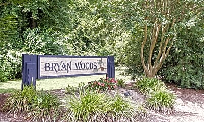 Community Signage, Bryan Woods, 2
