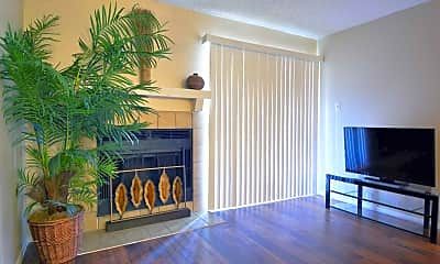 Living Room, Avistar at the Oaks, 1