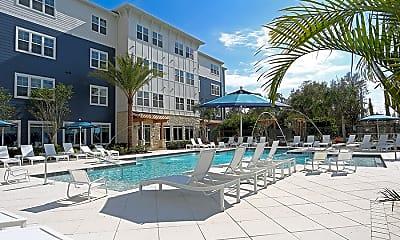 Pool, 5 Oaks @ Westchase, 0