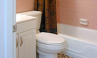 Bathroom, Forest Square Apartment Homes, 2
