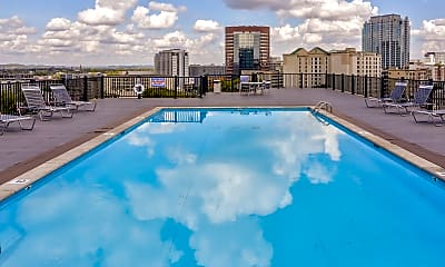 Pool, Americana Apartments, 1
