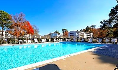 Pool, Grafton Station Apartments, 0