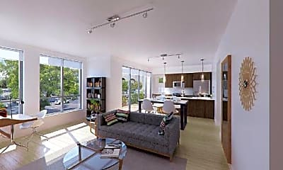 Living Room, 1620 Central St, 0