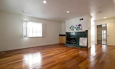 Living Room, 821 S Gramercy Pl 4, 1