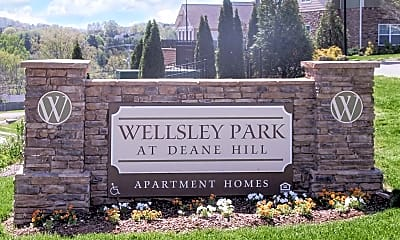 Community Signage, Wellsley Park At Deane Hill, 2