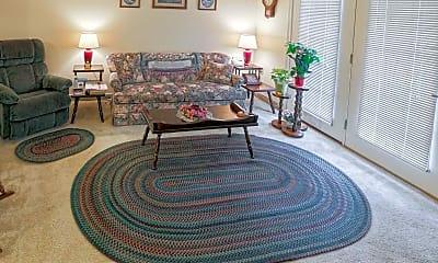Living Room, Sandra Lane Senior Apartments, 1