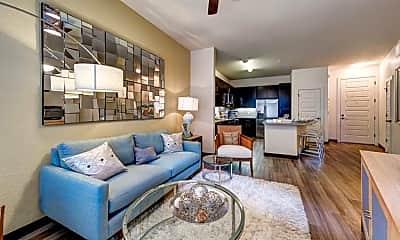 Living Room, 2712 Blake St, 1