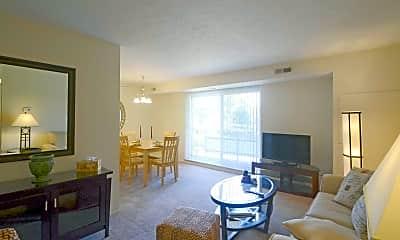 Living Room, Churchill Towers, 1