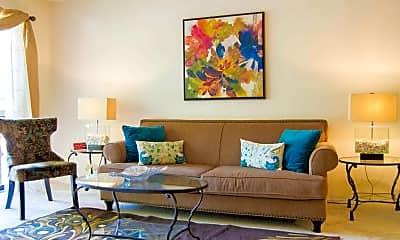 Living Room, Fairway Hills, 1