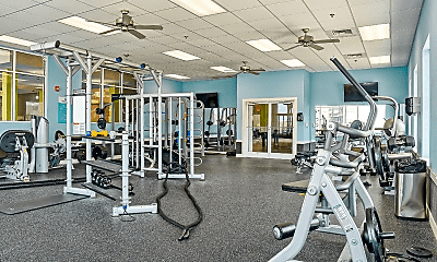 Fitness Weight Room, Coastal Club - Per Bed Leases, 1