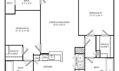Bedroom, 1000 Crane Brook Way, 2