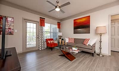 Living Room, The Grove on Southlake Apartments, 1