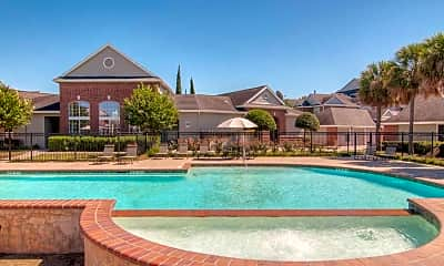 Pool, Brittmore Apartments, 0