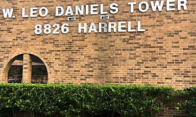 W Leo Daniels Tower, 1