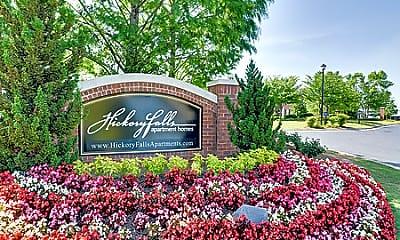 Community Signage, Hickory Falls, 1