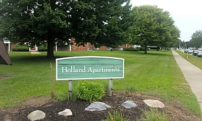 Holland Apartments, 1