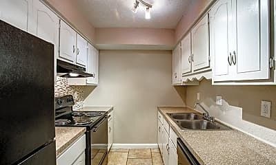 Kitchen, Spanish Rock Apartments, 1