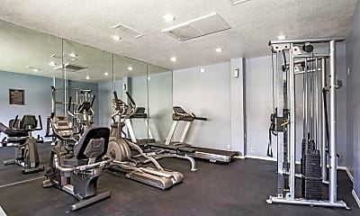 Fitness Weight Room, Alantra, 2