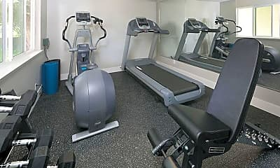 Fitness Weight Room, Vivante Apartments, 2
