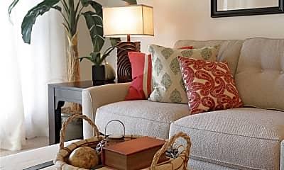 Living Room, Villa Oaks Apartments, 0