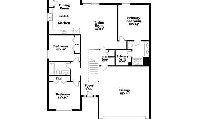 Building, 12322 N Wayne Ave, 1