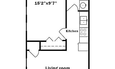 Bedroom, 220 S 6th St, 2