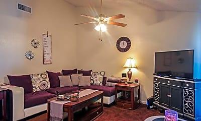 Living Room, Hunterwood Apartments, 1