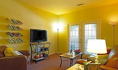 Living Room, University Village At Fresno, 1